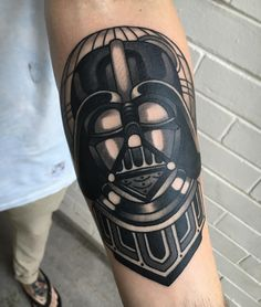 by aj_tattoo - Darth Vader on Luke! @wa_ink_tattoo