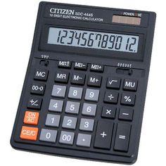 Asztali nagy számológép 1 2 karakteres Citizen SDC-444S Ft Ár 2,739