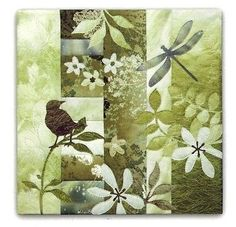 """Pine Needles specializes in Applique Quilt Patterns. McKenna Ryan's pioneering """"Simple and Easy"""" fusible web method changed the quilting industry and delivers unmatched artistry to every quilter! Small Quilts, Mini Quilts, Baby Quilts, Yoko Saito, Neutral Quilt, Applique Quilt Patterns, Japanese Quilts, Bird Quilt, Animal Quilts"""