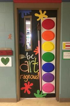 Love this door idea!