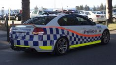 https://flic.kr/p/Gp8hw7 | 2012 Holden Commodore (VE II) SV6 sedan, Western Australia Police | After saying g'day to my mates and other teachers, and whilst the car moves slowly, I managed to photograph the front and rear on the same minute apart however I only managed to successfully get the rear view.