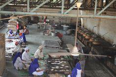 India, Delhi, Sikh Temple kitchen