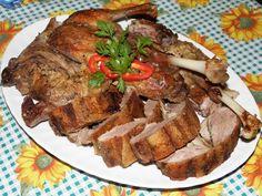Itt megtalálod a receptet amit kerestél! Meat Recipes, Cooking Recipes, Hungarian Recipes, Hungarian Food, Steak, Bacon, Curry, Pork, Food And Drink