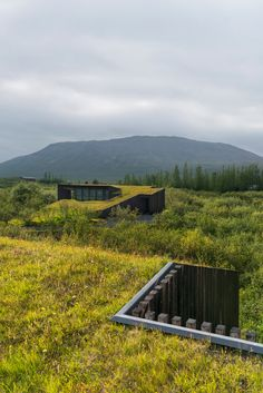 Holiday cottages in rural Iceland feature charred timber cladding