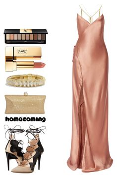 Homecoming by pstm on Polyvore featuring polyvore, fashion, style, Michelle Mason, Ruthie Davis, David Yurman, Yves Saint Laurent and clothing