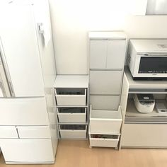 Kitchen/無印良品/ゴミ箱/白/ダストボックス/分別...などのインテリア実例 - 2018-02-28 17:27:08 | RoomClip (ルームクリップ) Stacked Washer Dryer, Washer And Dryer, Laundry, Home Appliances, Recycling, Laundry Room, House Appliances, Washing And Drying Machine, Appliances