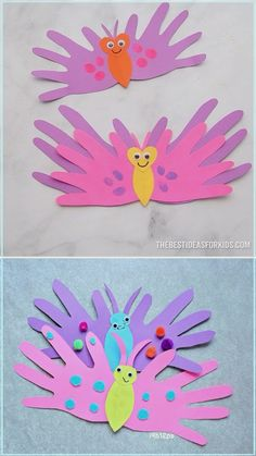 Spring Crafts For Kids, Mothers Day Crafts For Kids, Mothers Day Cards, Diy Crafts For Kids, Arts And Crafts, Paper Crafts, Wood Crafts, Kids Diy, Summer Crafts