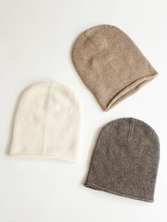 Lauren Manoogian Cashmere Crown Beanie - All Colors