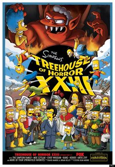 The Simpsons' 'Treehouse Of Horror XXIII' Preview (PHOTOS)