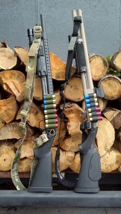 Mossberg 590 and Remington 870