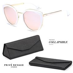 "PRIVE REVAUX ""The Artist"" Handcrafted Designer Geometric ... Cat Eye Sunglasses, Polarized Sunglasses, Sunnies, Eyewear, My Favorite Things, The Artist, Makeup, Beauty, Boutique"