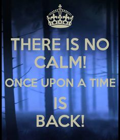 Once Upon A Time is back tonight! #OUAT #HiatusIsOver #CamelotandBraveareComing