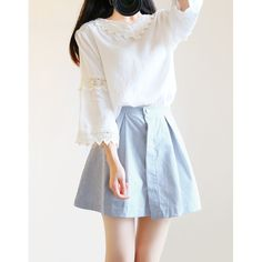 "Sweet shirt + skirt two-piece outfit SE9840 Coupon code ""cutekawaii"" for 10% off"