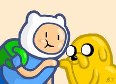 Adventure Time- Finn and Jake