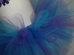 Purple, Turquoise and Blue Tutu