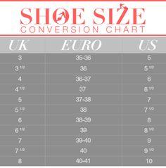 Shoe Size Conversion 101