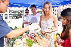 Britomart Farmers' Market Farmers Market, Lily Pulitzer, Straw Bag, Marketing, City, Dresses, Fashion, Vestidos, Moda