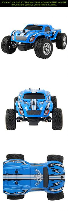 2017 K24-2 1/24 2.4G RC Off-road Vehicle Autos High Speed Monster Truck Remote Control Car RC Racing Car RTR 15km/h Shock Absorbers Dirt Bike RC Car SUV Drive Toys Christmas Gifts (SA-K24-2 Blue) #rc #technology #racing #camera #tech #wltoys #products #drone #gadgets #fpv #car #plans #shopping #parts #kit #mini