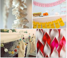 9 BANNERS & CREATIVE BUNTING PATTERNS....decorate, decorate decorate...perfect for parties and holidays