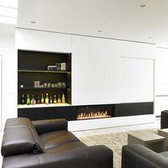 Schon Kachel En Opbergkast. Fireplace   ModernFireplace DesignTV ...