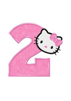 Kue Hello Kitty, Hello Kitty Art, Hello Kitty Images, Hello Kitty Birthday Cake, Unicorn Birthday, Happy Birthday Floral, Hello Kitty Backgrounds, Homemade Stickers, Hello Kitty Collection