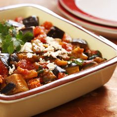 Moroccan Eggplant with Tomatoes - Price Chopper Recipe