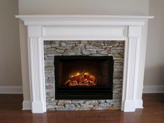 Electric fireplace insert inspiration