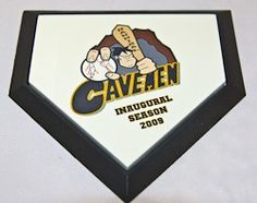 """Creative Laser Solutions Photo Baseball Mini Home Plate. We will personalize a Mini Home Plate with your special photo, logo or text. We specialize in quick turn around great gift idea for Corporate, Groomsmen Gift, Coaches Gift, Awards, etc. Mini Home Plate measures 5"""" x 5""""."""