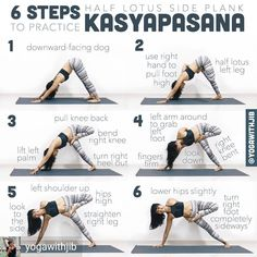 Yoga for flexibility - Hatha Yoga poses for beginners Ashtanga Yoga, Bikram Yoga, Yoga Routine, Yoga Inspiration, Pilates, Yoga Balance Poses, Fitness Del Yoga, Fitness Tips, Yoga Training
