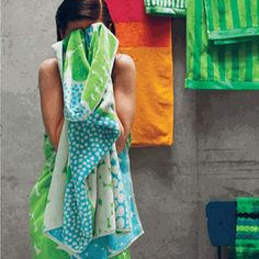 Jurmo Bath Towels, Aino-Maija Metsola, designer
