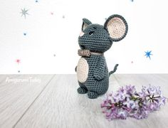 Crochet mouse - Free amigurumi pattern by Amigurumi Today