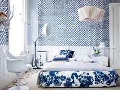 China blue bedding