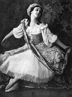 The beautiful Tamara Karsavina as Armida in Le Pavillon d'Armide, 1911 Imperial Russia