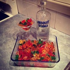 And sometimes what they want is gummi bears soaked in alcohol. | 14 DIY Versions Of Your Favorite Childhood Snacks