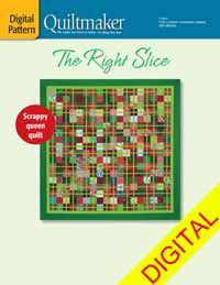 The Right Slice Digital Pattern from QuiltandSewShop.com