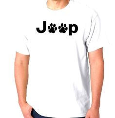 Custom Screen Printed T-Shirt Jeep Dog Paws Small - 4XL Free Shi FREE Necklace WITH EVERY T-SHIRT PURCHASE!! ENTER CODE--->10PercentOFFANYTEE
