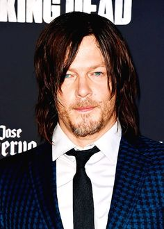 Norman Reedus at the season 5 premiere