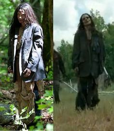 The Walking Dead // The return of Creepy Clara. i knew it was her!