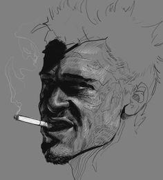 Portrait Project 2014 by Ramón Nuñez, via Behance