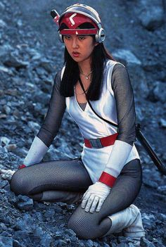 世界忍者戦ジライヤ World Ninja Wars Jiraiya, Japanese TV drama in the Science Fiction, Fiction Movies, Ninja Jiraya, Cool Tights, Go Busters, Robot Cartoon, O Pokemon, Space Girl, Female Hero