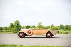 1931 Packard Deluxe Eight Model 845 Convertible Coupe with coachwork by LeBaron.  This design was the precursor to the Packard factory Convertible Coupe body style that came in 1932 and lasted through 1934.