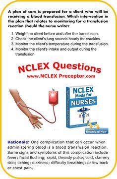 Bonus nursing practice NCLEX questions for registered nurses. #NCLEXCoreMeasures www.nclexpreceptor.com Nursing Books, Nursing Care, Nursing Tips, Nclex Review Questions, Nursing Questions, Nclex Exam, Nurse Jackie, Nursing Mnemonics, Nursing School Notes