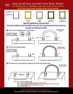 Book Purse Instructions   Purse, Handbag, Cigar Box > Hooks > How To Make A Purse Instructions ...