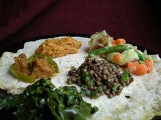 Azifa (green lentil salad) | 17 Delicious Ethiopian Dishes All Kinds Of Eaters Can Enjoy
