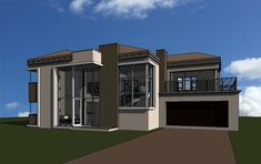6 Bedroom house plan in South Africa. Find 6 bedroom house plans, luxury 6 bedroom 2 storey house plans with photos, 6 bedroom house plans and PDF. Contemporary House Plans, Modern House Plans, Modern House Design, House Floor Plans, Modern Contemporary, Double Storey House Plans, 2 Storey House, Double House, Tuscan House Plans