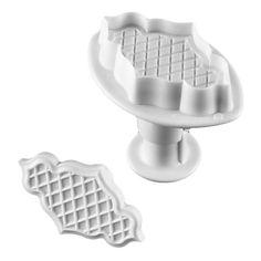bolo nuvem forma e molde cortador de biscoitos com um êmbolo (2 peças) – USD $ 5.69