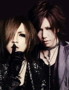 Ruki. Aoi. The GazettE.