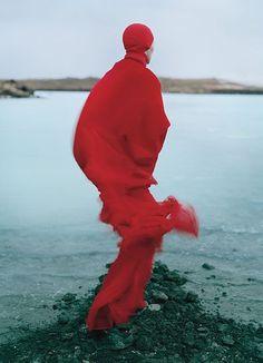 Tilda Swinton in W Magazine