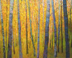Grateful Notices:  Forest Verticals Oil on canvas, 40 x 60 inches This oil was recently sold to a private collection in Massachusetts. Thank you Corporate Portfolio, MI and Total Arts Gallery, Taos, NM for making this possible!  http://forthecolor.blogspot.com/2014/01/grateful-notices-and-newsletter-january.html