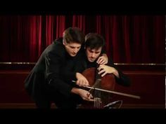 2CELLOS on 1 cello! Every Teardrop Is a Waterfall [Coldplay]